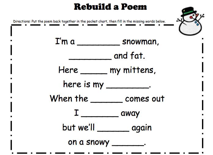 Christmas Worksheets For 1st Grade Worksheets For All