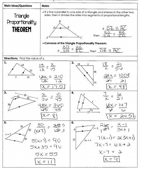Congruence And Similarity Worksheet Worksheets For All