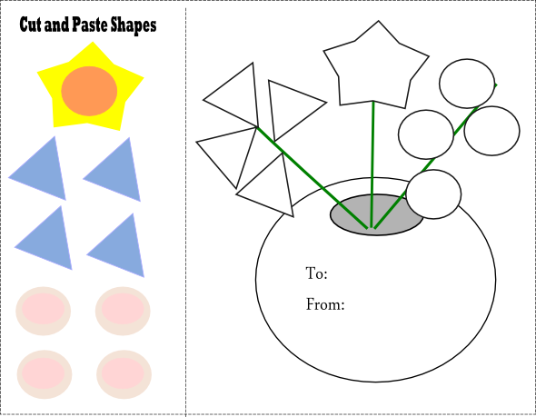 Cut And Paste Worksheets For Toddlers Worksheets For All