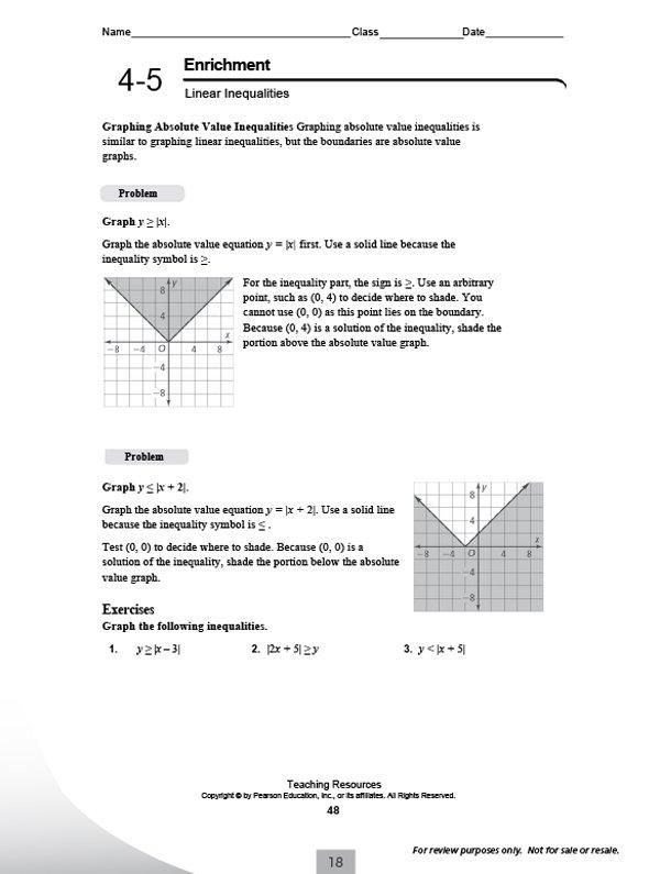 Enrichment Math Worksheets Worksheets For All