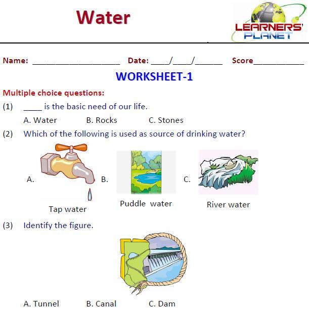 Free Evs Worksheets For Grade 1 Cbse