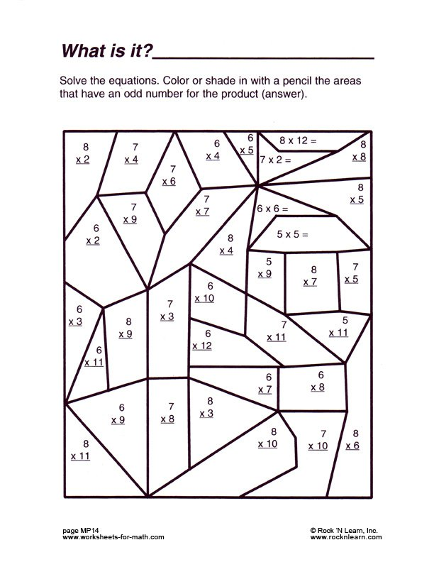 Free Fun Worksheets For 5th Graders