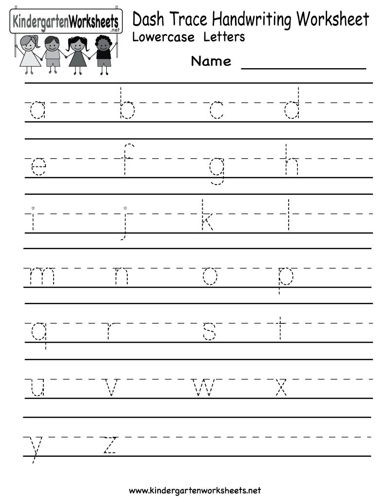 Free Printablelphabet Worksheets For Preschoolers Math Handwriting