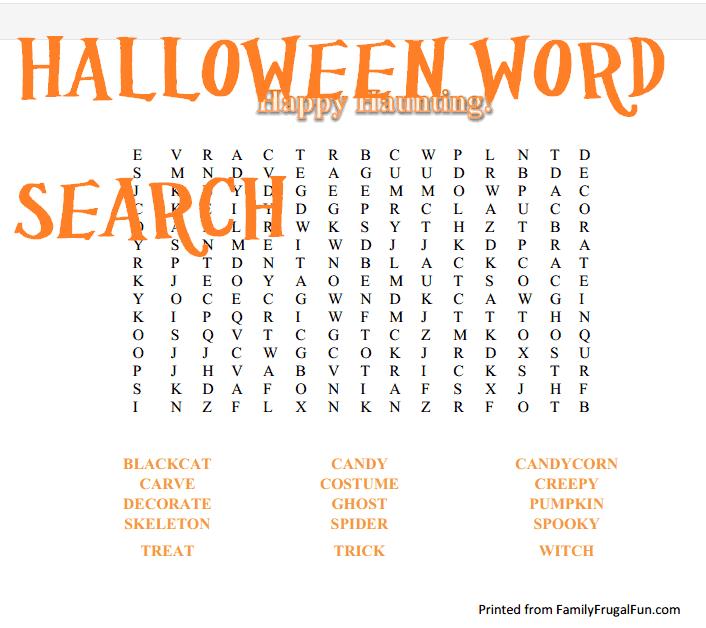 Fun Halloween Worksheets Halloween Worksheet Educational Family