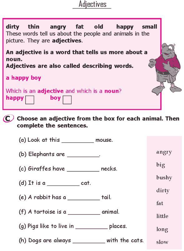 Grade 1 English Grammar  Worksheets  Kristawiltbank Free Printable