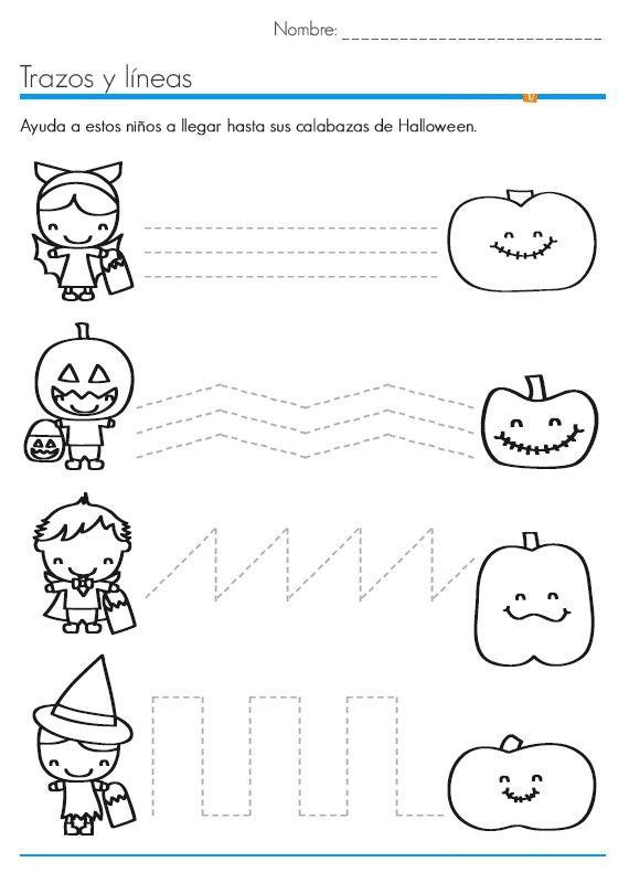 Halloween Worksheets Kindergarten Worksheets For All Download And