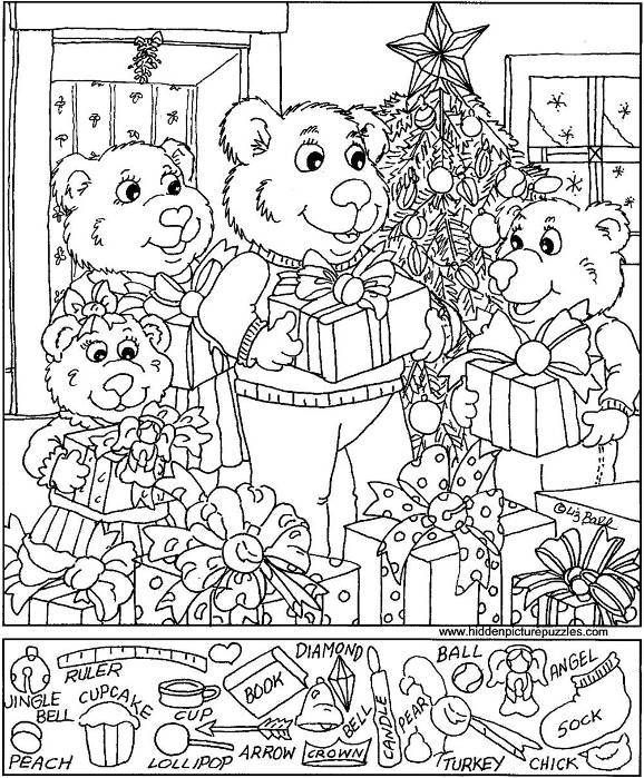 Hidden Object Sheets For Christmas – Fun For Christmas