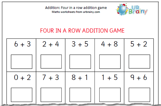 Inspiration Simple Addition Worksheets For Year 1 In Free Maths