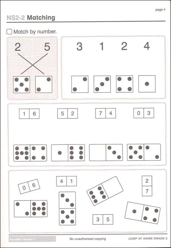 Jump At Home Grade 2  Worksheets For The Jump Math Program (062559