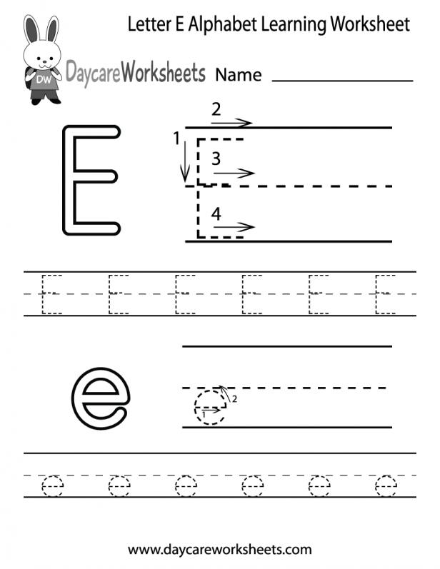 Kids  Preschool Learning Printable Worksheets  Dash Trace