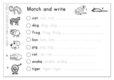 Kindergarten Handwriting Worksheets Free