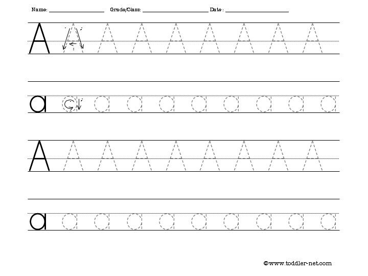 Letter Tracing Worksheets Free Worksheets For All