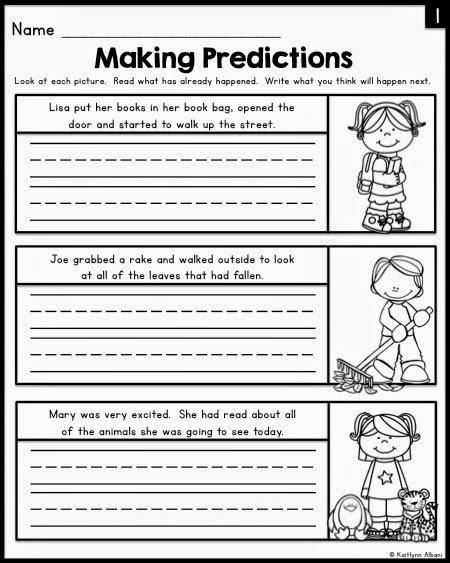 Making Predictions Worksheet 4 Worksheets For All