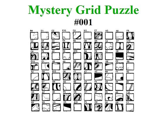 Mystery Grid Art Worksheets Worksheets For All