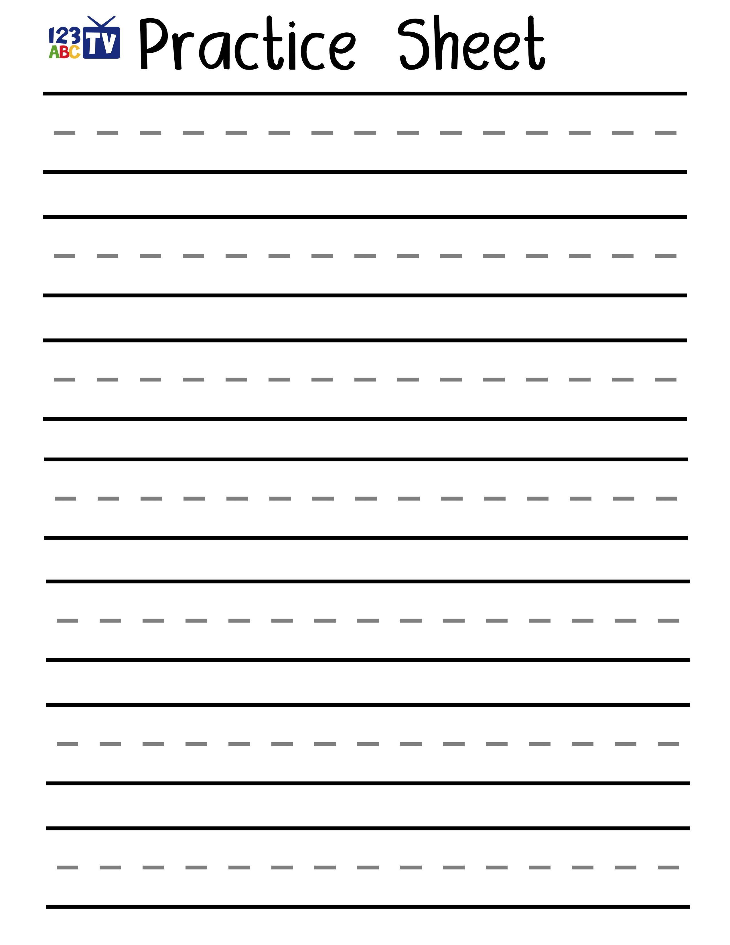 Name Practice Worksheet