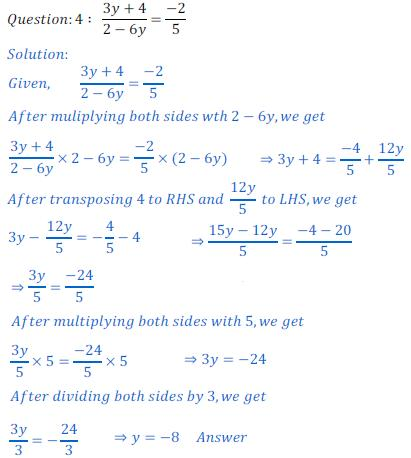 One Variable Linear Equations Worksheets Worksheets For All