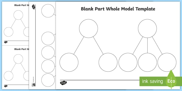 Part Whole Blank Model Template