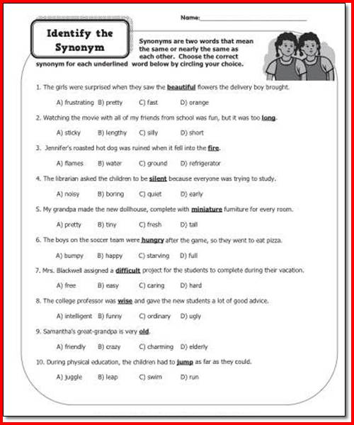 Parts Of Speech Worksheets For High School Worksheets For All