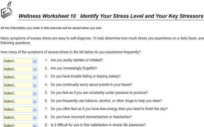 Personal Health Worksheets Worksheets For All