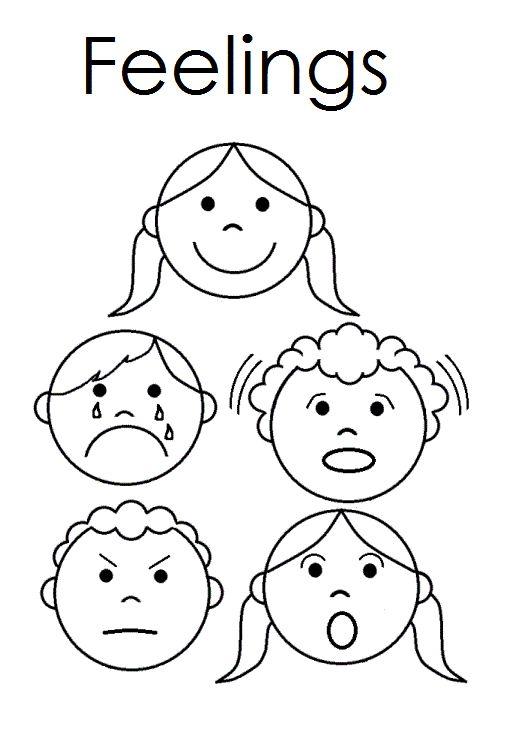 Preschool Emotions Worksheets