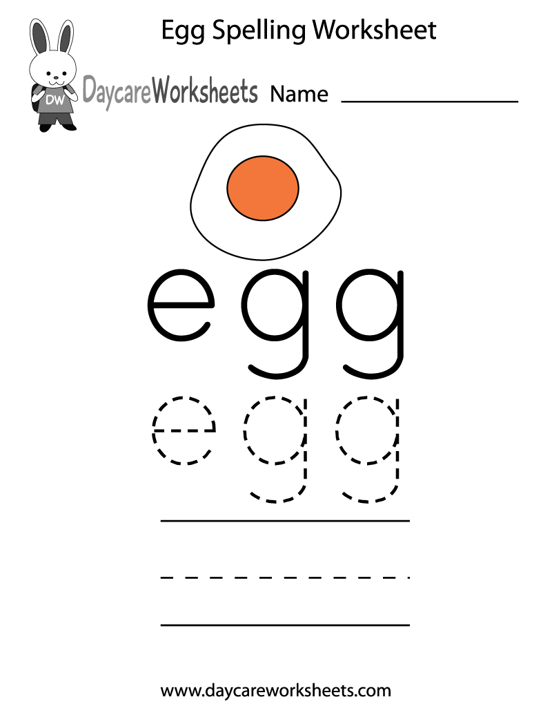 Preschool Spelling Worksheets The Best Worksheets Image Collection