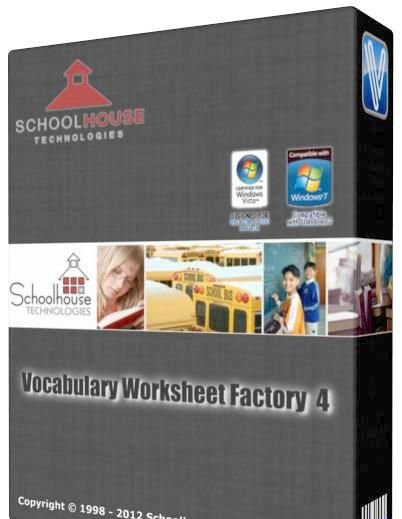 Schoolhouse Technologies Vocabulary Worksheet Factory V4 1 14 8