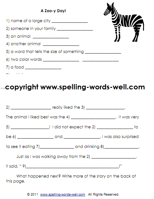 Second Grade Writing Worksheets 2nd Grade Spelling Words And