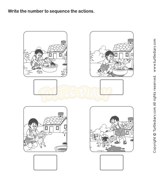 Sequencing Events Worksheets For Kindergarten Easy But Snapshoot