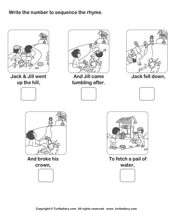Sequencing Stories For Kindergarten