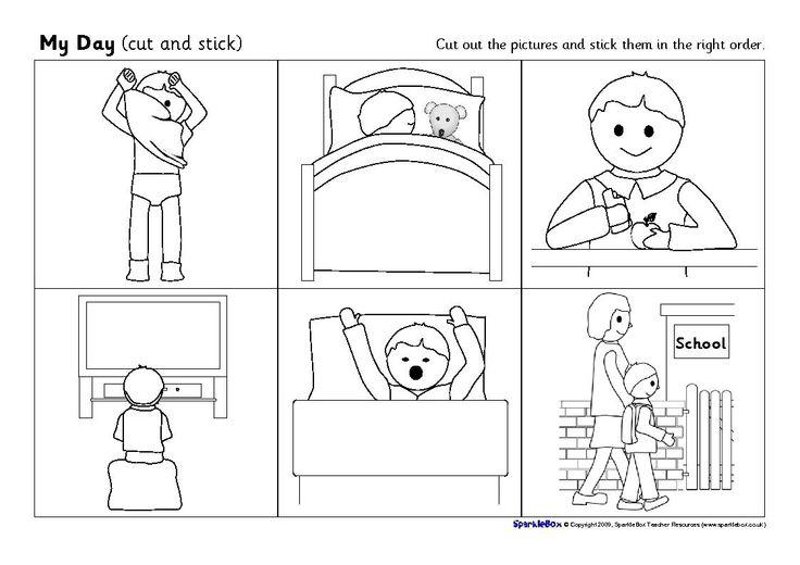 Sequencing Worksheets For Kindergarten Free