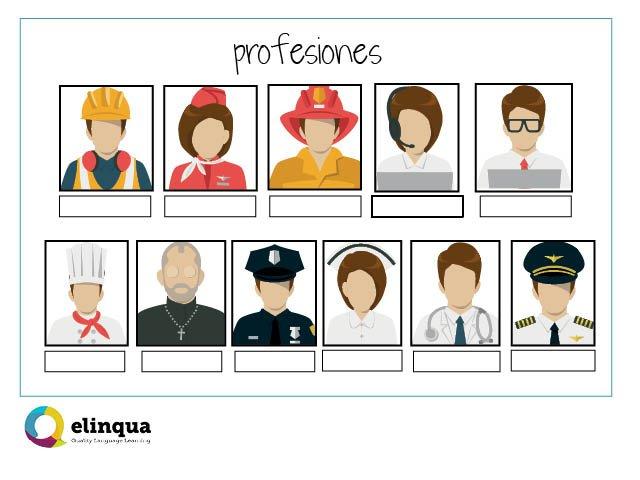 Spanish Vocabulary About Jobs And Professionselinqua Com
