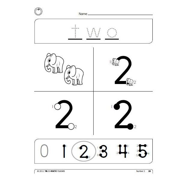 Touch Math Multiplication Worksheets Touchmath Why Its Great How
