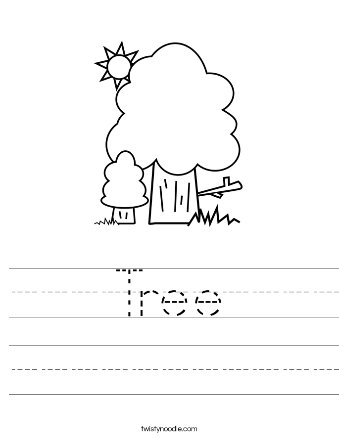 Tree Worksheet The Best Worksheets Image Collection