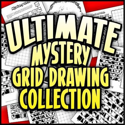 Ultimate Mystery Grid Drawing Collection