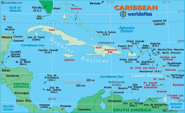 Unit 6 Geography Of Caribbean And Latin America