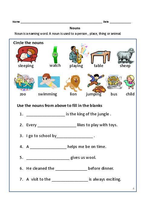 Useful Worksheet Proper Nouns 2nd Grade On Proper Noun Worksheets