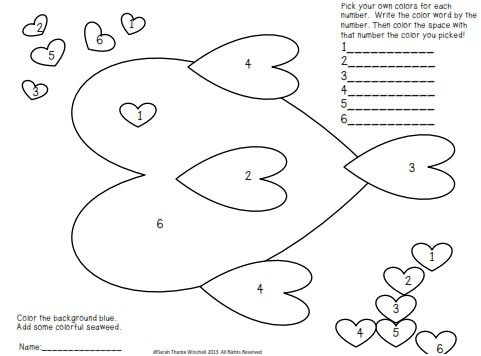 Valentine S Day Worksheets For First Grade
