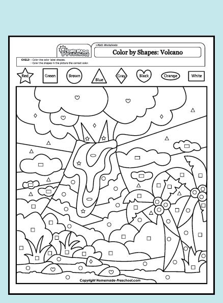 Volcano Worksheet Pdf Worksheets For All