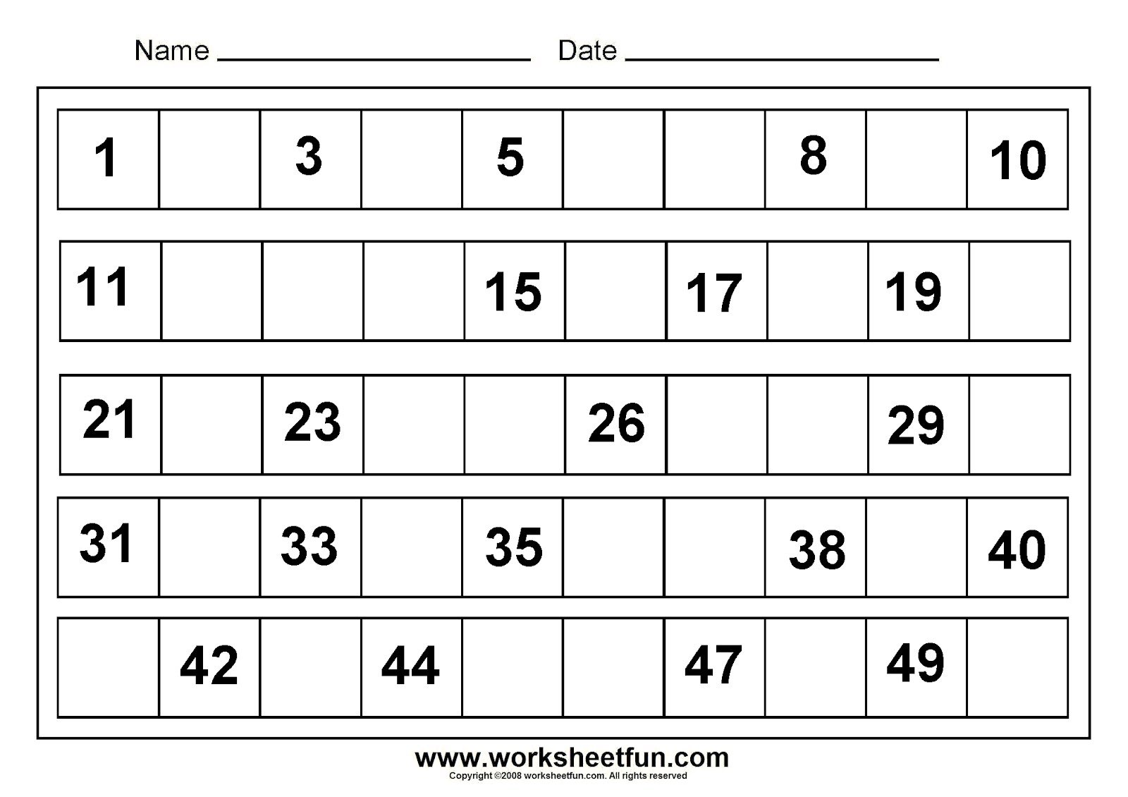 Worksheet For Kindergarten Math The Best Worksheets Image