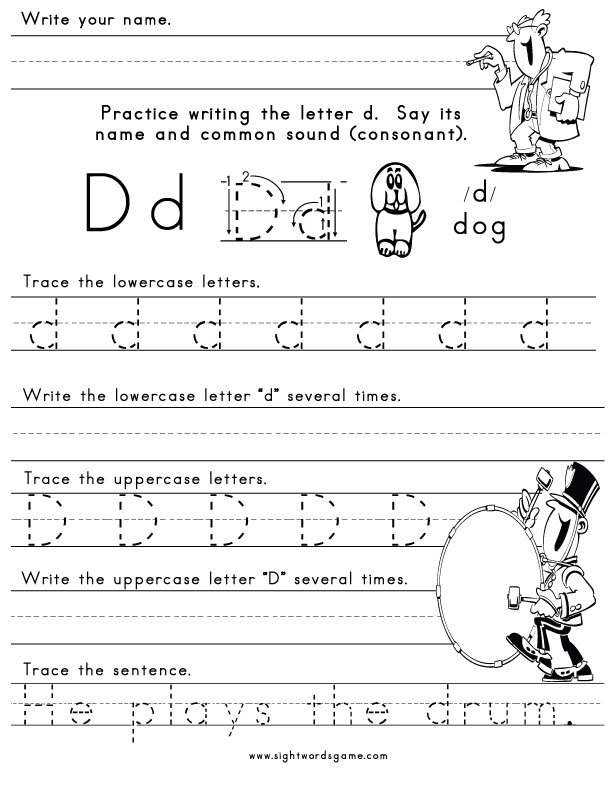 Worksheets For Letters