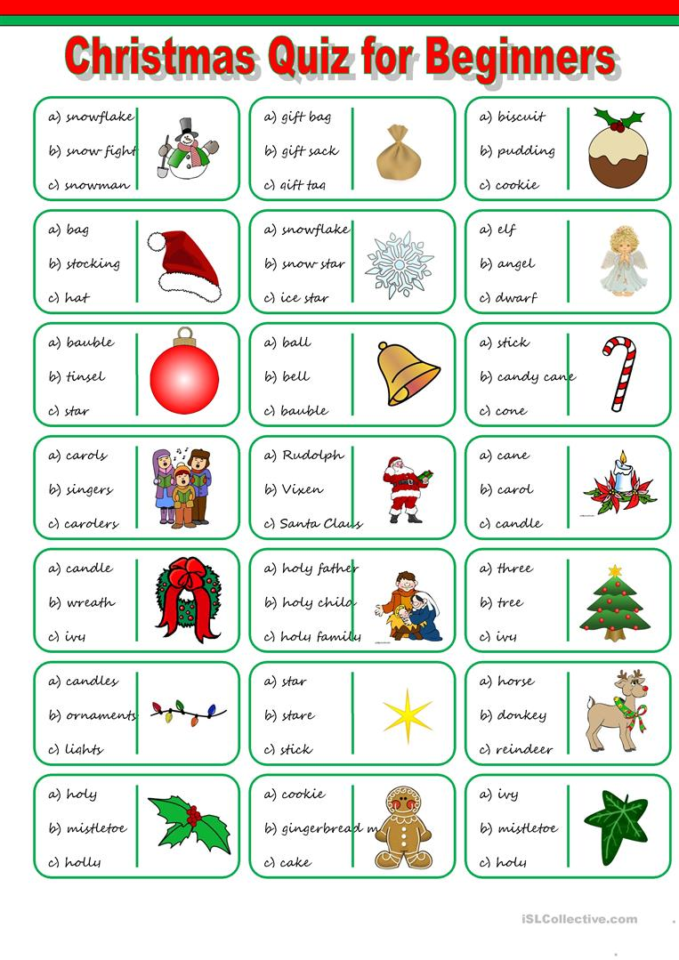 Xmas Worksheets Worksheets For All