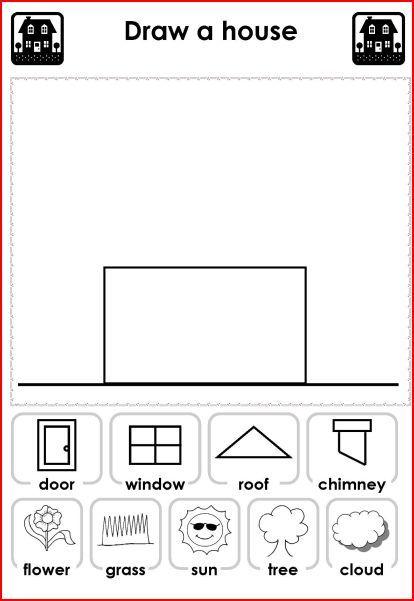121 Best House Images On Free Worksheets Samples