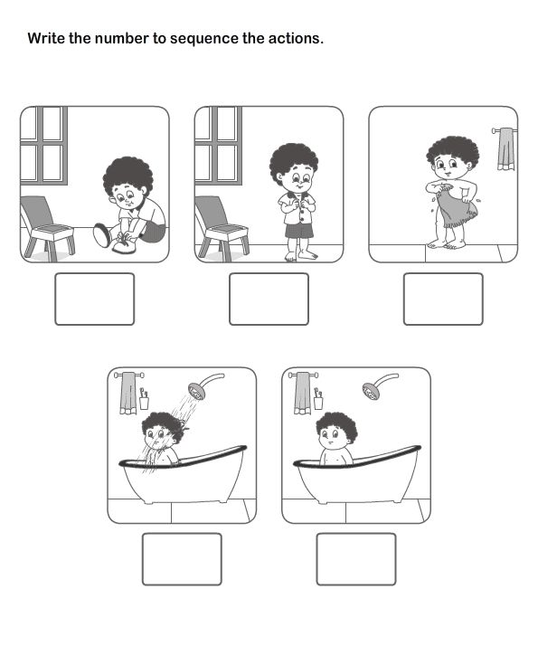 13 Best Picture Sequence Worksheet Images On Free Worksheets Samples