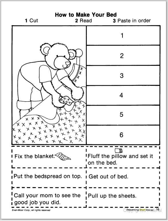 1st Grade Sequencing Worksheets