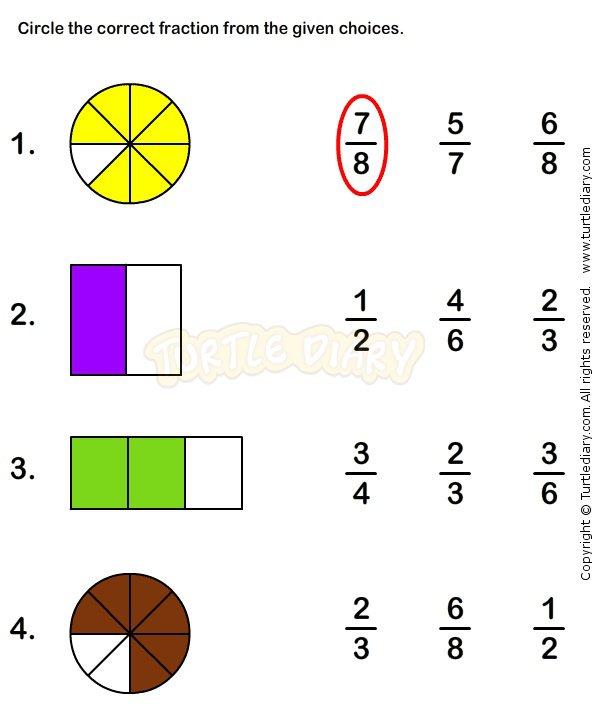 22 Best Fraction Workcheets Images On Free Worksheets Samples