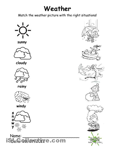 2nd Grade Weather Worksheets Luxury 12 Best Images Of 1st Grade