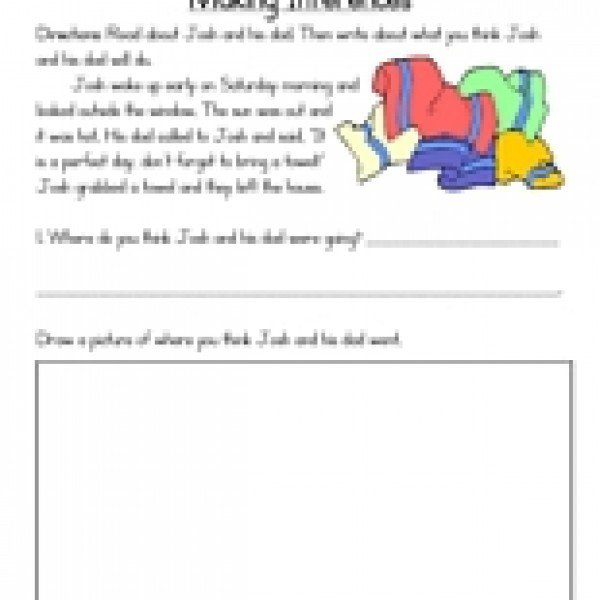 3 Rd Grade Inference Worksheets Making Inferences 600 600 Although