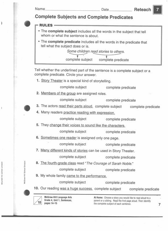 4 Th Grade Grammar Worksheets Absolute Snapshot Orig Punctuate Me