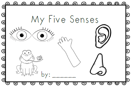 5 Senses Coloring Pages For Preschoolers Luxury 5 Senses Coloring