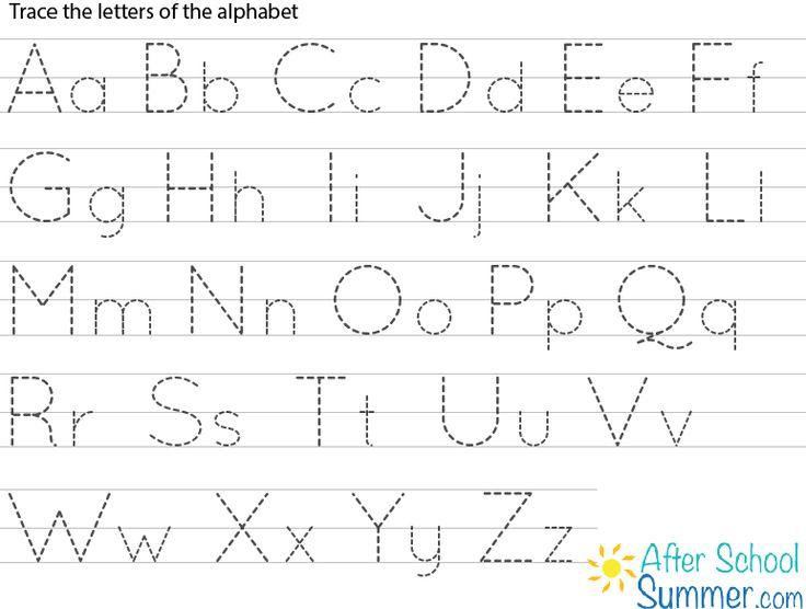 Abc Tracing Printable